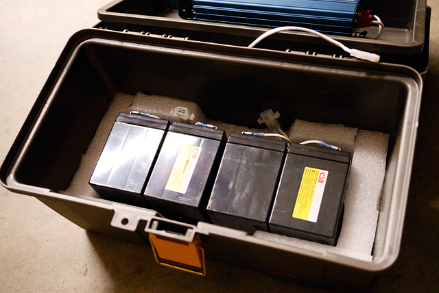 Field Full Size Battery Box : Diy portable v power supply do it your self
